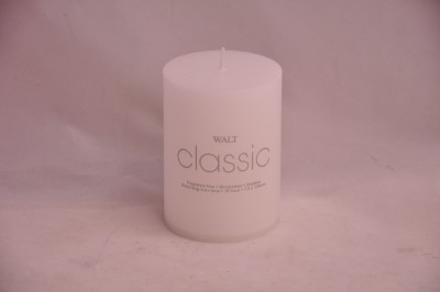 WALT Classic White Candle (7.5 x 10 cm)