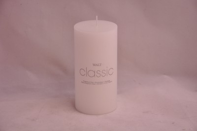 WALT Classic White Candle (5 x 10cm)