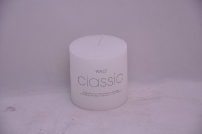 WALT classic White Candle (7.5 x 7.5 cm)