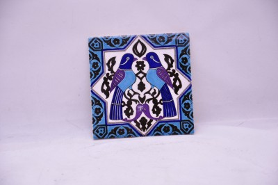 Turkish Coaster With Two Doves Karo-49