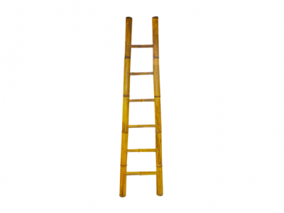 Natural Bamboo Ladder | White Bamboo Ladder | Bamboo ladders Hong Kong Chinese Decoraction HK Home Essentials Central | Vivid Chinese Furnishings Home