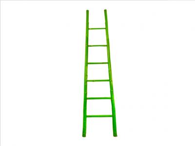 Green Bamboo Ladder