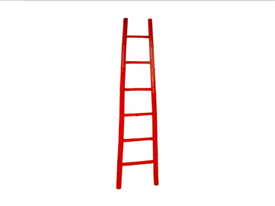 Red Bamboo Ladder