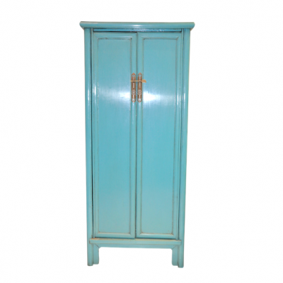 Blue Cabinet / Armoire | Chinese reproduction furniture Hong Kong Home Essentials Central HK | Antique Chinese furniture Hong Kong Home Essentials HK