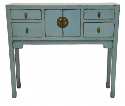 Console Tables Alter Tables Hong Kong Home Essentials | Blue Chinese Duke of Chou Table Console | Chinese reproduction furniture Hong Kong Home Essent