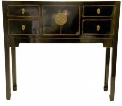 Console Tables Alter Tables Hong Kong Home Essentials | Black Chinese Duke of Chou Table Console | Chinese reproduction furniture Hong Kong Home Essen