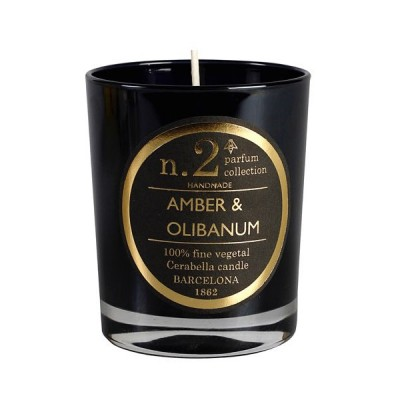 Amber & Olibanum Nº2 Box Candle |  natural soy wax scented candle Hong Kong HK Home Essentials in Central