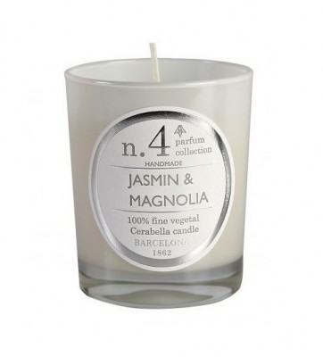 Jasmin & Magnolia Nº4 Box Candle | scented candles Hong Kong Home Essentials  | natural soy wax candles Hong Kong Home Essentials | candles HK Hong Ko