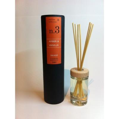 Amber & Vanilla Nº3 Room Diffuser 50ml |    natural diffuser aroma scents Hong Kong Home Essentials | diffusers HK Hong Kong Home Essentials