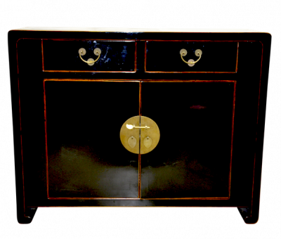 Shanghai Sideboard Black | Chinese Reproduction Furniture Hong Kong Home Essentials | Armoires sideboards Hong Kong Home Essentials | colorful Chinese
