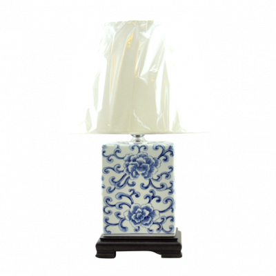 Han Dynasty Lamp Chinese Ceramic | Chinese ceramic vase lamps Hong Kong Home Essentials HK | hand painted vase lamps Chinese style ceramics HK Home Es