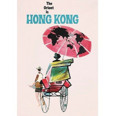 vintage travel posters Hong Kong Home Essentials Central HK | colorful wall art travel posters affordable Hong Kong Home Essentials Central HK