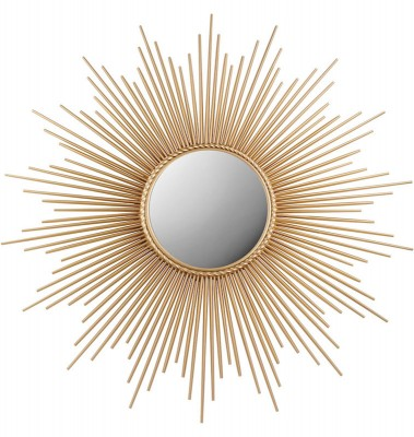 Sunburst Mirror_Gold | mirrors Hong Kong Home Essentials Central HK | wall mirror HK decorative mirror contemporary mirror Hong Kong Home Essentials |
