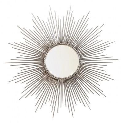 Sunburst Mirror_Silver | mirrors Hong Kong Home Essentials Central HK | wall mirror HK decorative mirror contemporary mirror Hong Kong Home Essentials