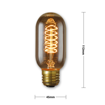 Edison Light Bulb - ED6 | Edison light bulbs Hong Kong supply Home Essentials Central HK | vintage light bulb supplier Hong Kong Home Essentials Centr
