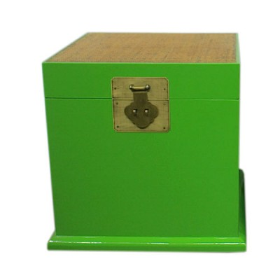 Lime Green Trunk | Chinese reproduction furniture Hong Kong Home Essentials Central HK | Side Tables End Tables Hong Kong Home Essentials Central HK |
