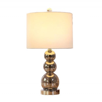 Crystal ball lamp - smoky