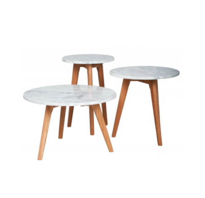Oslo Marble Side Tables | end tables coffee tables Hong Kong HK Home Essentials | marble coffee tables end tables side tables HK Hong Kong Home Essent