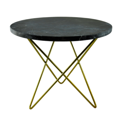 Agosto Black Marble Small Table