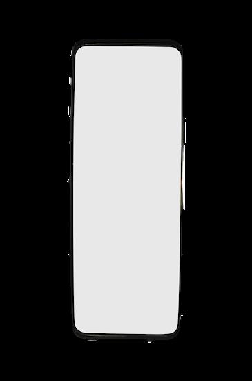 Ls long mirror 50x130 matt black for Miroir 160 x 50