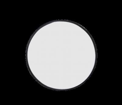 LS Round Mirror 50 - Black