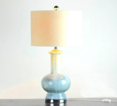 Blue Glazed Ceramic Lamp | lamps lighting table lamps Hong Kong Home Essentials HK | Ceramic colorful lamps Hong Kong Furniture Stores Home Essentials