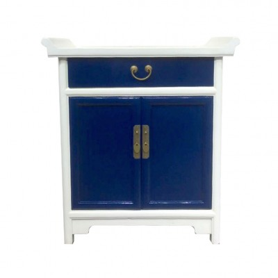Shandong 2 Tone Cabinet | color colorful Chinese furniture reproduction custom size modern Chinese furniture Home Essentials Hong Kong HK