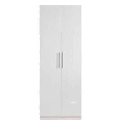 High Gloss White Wardrobe - 2 door | wardrobes Hong Kong Home Essentials Central HK | Bedroom Wardrobes closets HK Hong Kong Home Essentials modern