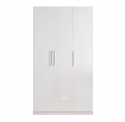 High Gloss White Wardrobe - 3 Door | wardrobes Hong Kong Home Essentials Central HK | Bedroom Wardrobes closets HK Hong Kong Home Essentials modern
