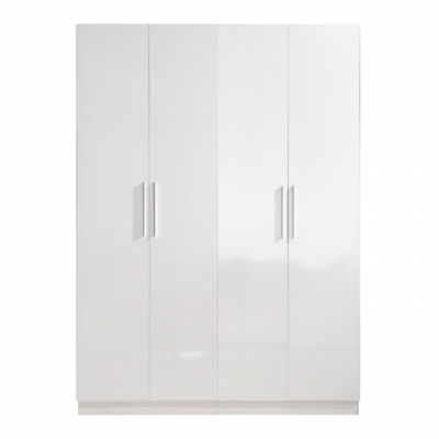 High Gloss White Wardrobe - 4 Door | wardrobes Hong Kong Home Essentials Central HK | Bedroom Wardrobes closets HK Hong Kong Home Essentials modern