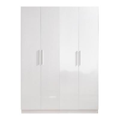 High Gloss White Wardrobe - 4 Door | wardrobes Hong Kong Home Essentials Central HK | Bedroom Wardrobes closets HK Hong Kong Home Essentials modern