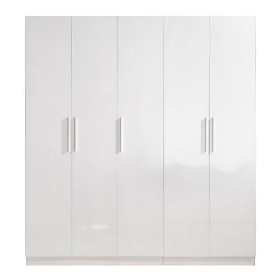 High Gloss White Wardrobe - 5 Door | wardrobes Hong Kong Home Essentials Central HK | Bedroom Wardrobes closets HK Hong Kong Home Essentials modern
