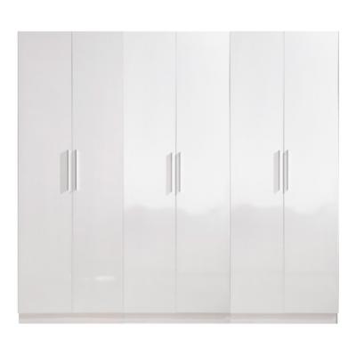 High Gloss White Wardrobe - 6 Door | wardrobes Hong Kong Home Essentials Central HK | Bedroom Wardrobes closets HK Hong Kong Home Essentials modern