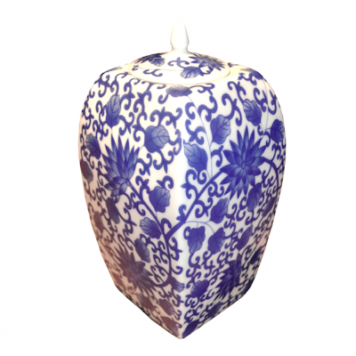 Lotus Jar | Chinese ceramics vases porcelain jars urns stools coin stools Hong Kong Home Essentials