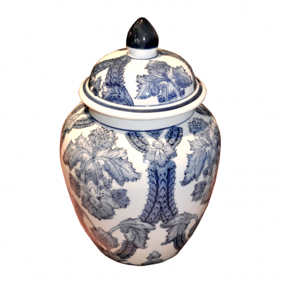 Ivy Jar | Chinese ceramics vases porcelain jars urns stools coin stools Hong Kong Home Essentials