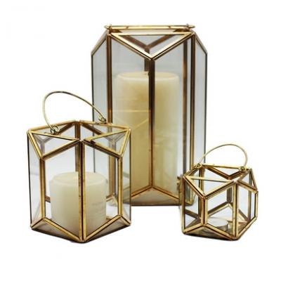 Bronze Prism Lantern