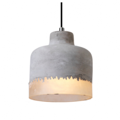 concrete Lamp hong kong cement hk modern table lamp