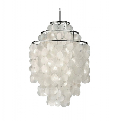 Capris shell pendant lamp light lighting hong kong hk