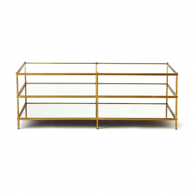 modern mid century gold brass copper glass coffee side console Table Hong Kong HK Home Essentials