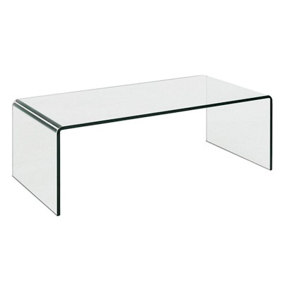 Curvo Tempered Glass Coffee Table