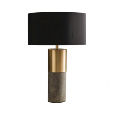 Jolby concrete brass 2 tone Table Lamp hong kong modern scandinavian