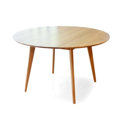 Troms Solid Oak Round Table Hong Kong Modern scandinavian retro