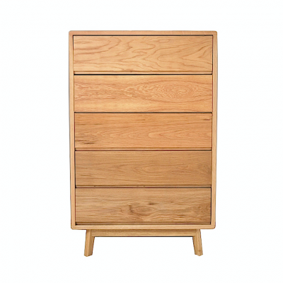 Alta Solid Oak Tall Dresser | chest of drawers dresser bedroom furniture Hong Kong Home Essentials furniture store HK