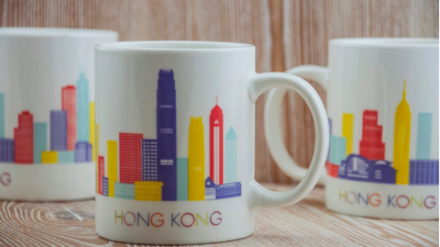 HK Skyline Mug | Hong Kong gifts coffee cup mugs HK Home Essentials Central furniture stores