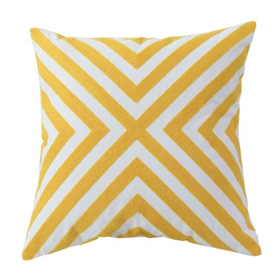cross Cushion retro geo pattern pillow Hong Kong Embroidery Home essentials