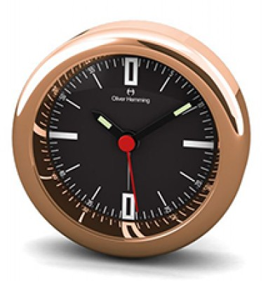Desire 58MM Chrome and Rose Gold Alloy Alarm H58R45B