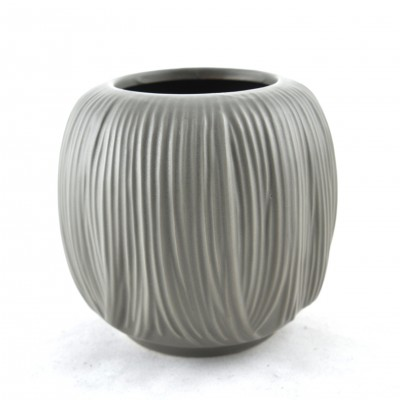 Taupe Ceramic Vase (Small)