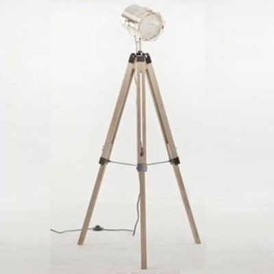director floor lamp_brass