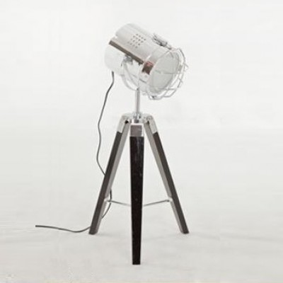 director table lamp_chrome