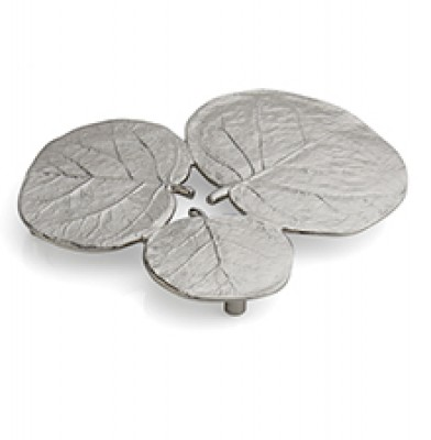 Botanical Leaf Trivet - Nickelplate